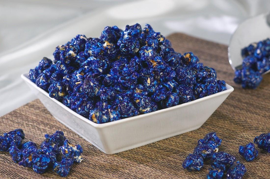 Navy Blue Popcorn