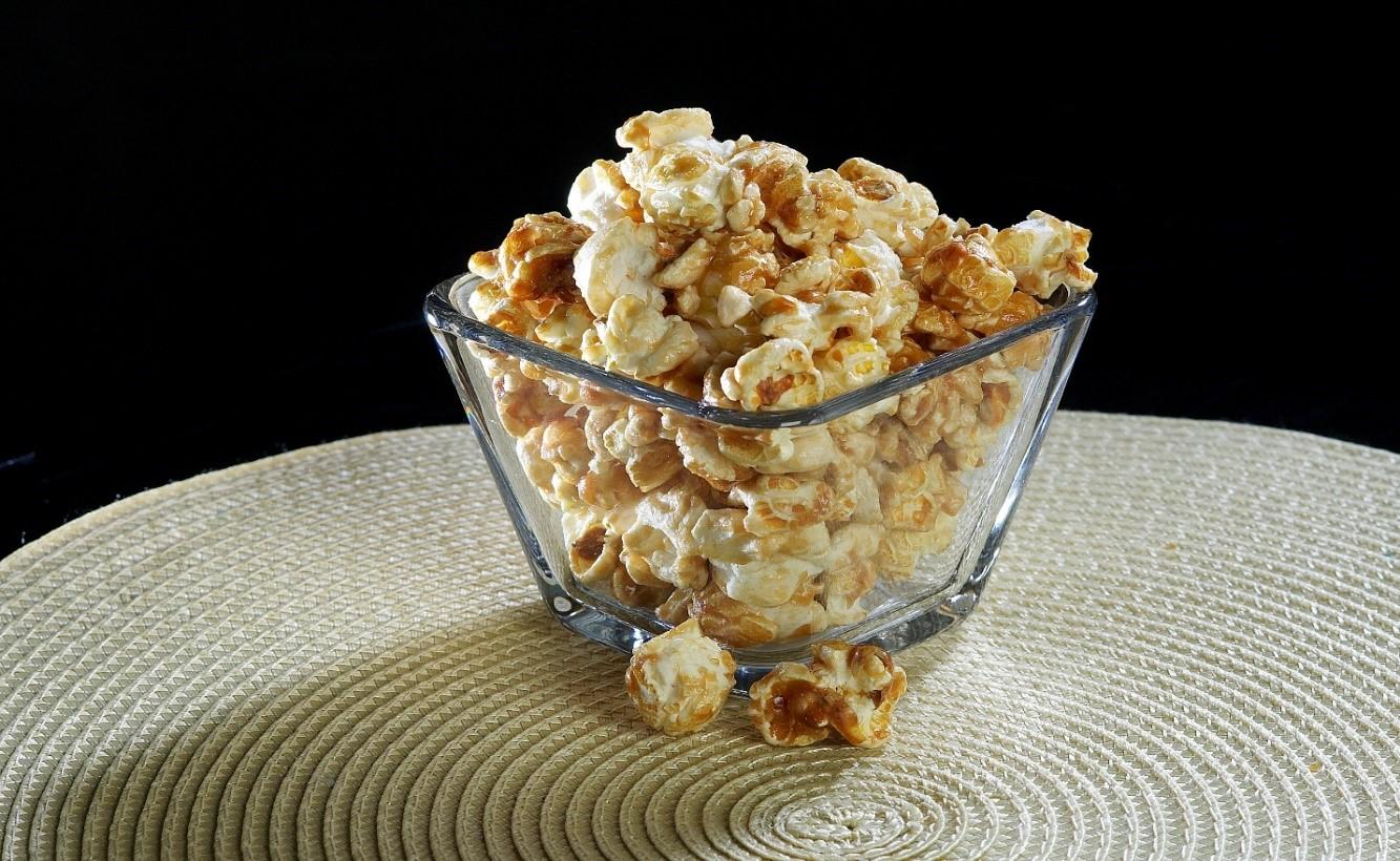 Simply Caramel Popcorn