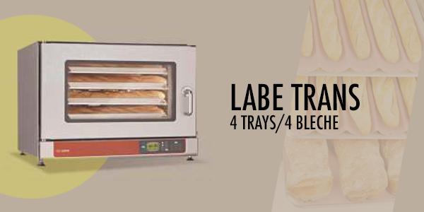 Labe Trans 4 Trays - Salva Oven